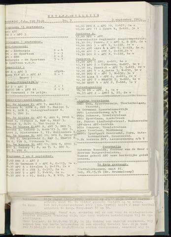Bulletins (vnl. opstellingen) 1963-08-28