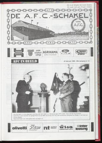 Schakels (clubbladen) 1989-02-22