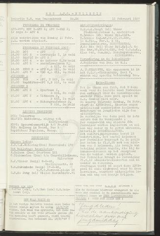 Bulletins (vnl. opstellingen) 1957-02-12