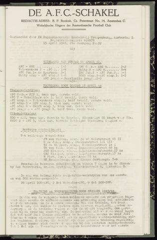Schakels (clubbladen) 1943-04-15