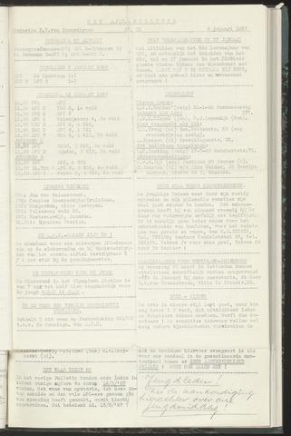 Bulletins (vnl. opstellingen) 1957-01-08