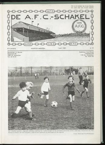 Schakels (clubbladen) 1981-04-01