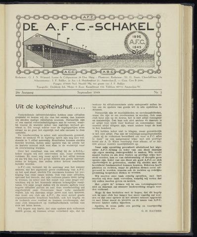 Schakels (clubbladen) 1949-09-01