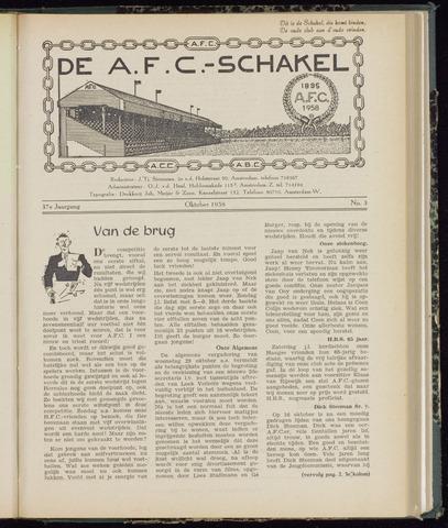Schakels (clubbladen) 1958-10-01