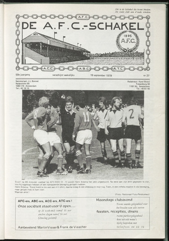 Schakels (clubbladen) 1979-09-19