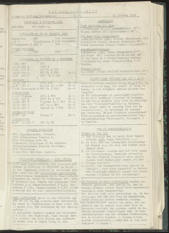 Bulletins (vnl. opstellingen) 1953-10-27