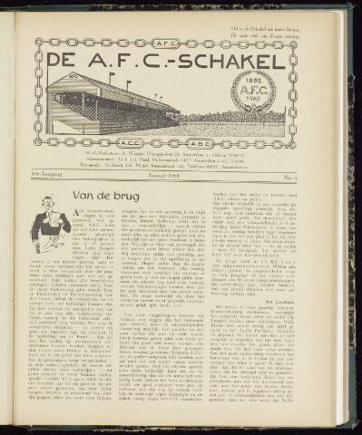 Schakels (clubbladen) 1961-01-01