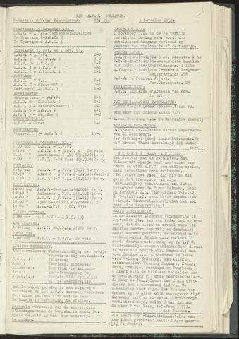 Bulletins (vnl. opstellingen) 1953-11-03