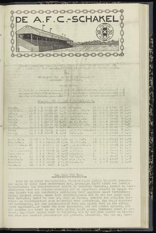 Schakels (clubbladen) 1938-01-13