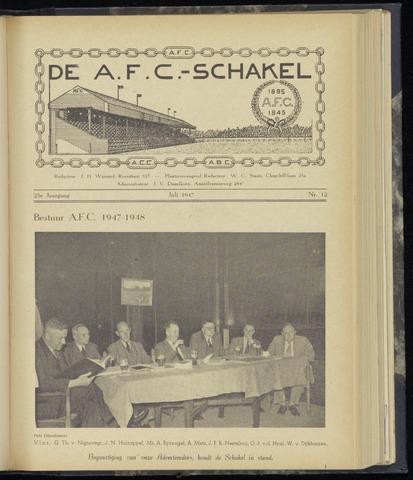 Schakels (clubbladen) 1947-07-01