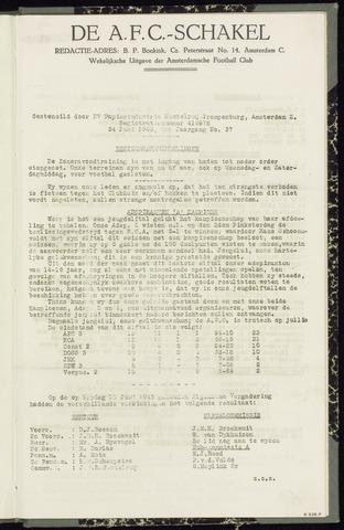 Schakels (clubbladen) 1943-06-24