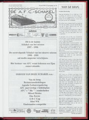 Schakels (clubbladen) 1998-06-16
