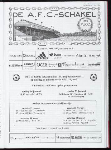 Schakels (clubbladen) 2005-01-12
