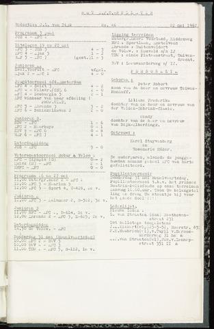 Bulletins (vnl. opstellingen) 1962-05-22