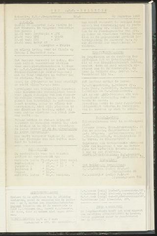 Bulletins (vnl. opstellingen) 1957-08-20