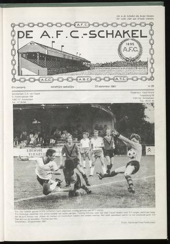 Schakels (clubbladen) 1981-09-23