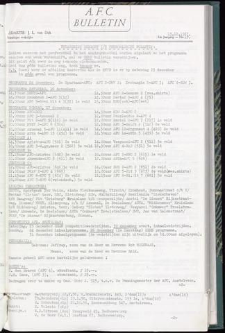 Bulletins (vnl. opstellingen) 1967-12-13