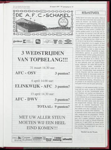 Schakels (clubbladen) 1997-03-26