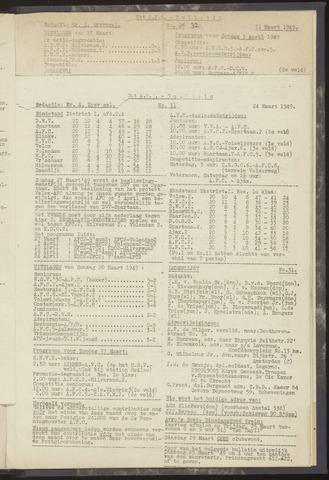 Bulletins (vnl. opstellingen) 1949-03-17