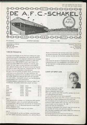 Schakels (clubbladen) 1981-02-18