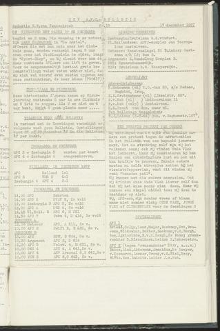 Bulletins (vnl. opstellingen) 1957-12-17