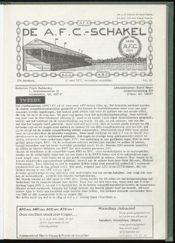 Schakels (clubbladen) 1977-05-11