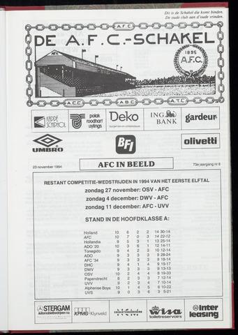 Schakels (clubbladen) 1994-11-23