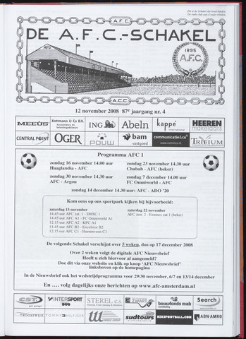 Schakels (clubbladen) 2008-11-12