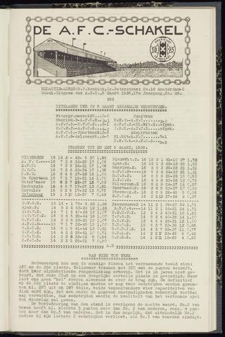 Schakels (clubbladen) 1939-03-09