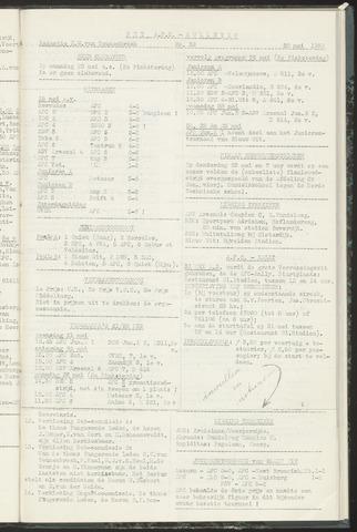 Bulletins (vnl. opstellingen) 1958-05-27