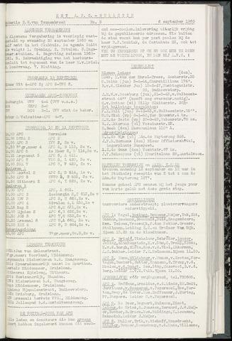 Bulletins (vnl. opstellingen) 1960-09-06