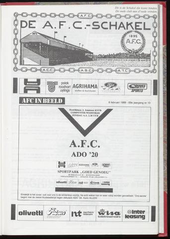Schakels (clubbladen) 1989-02-08
