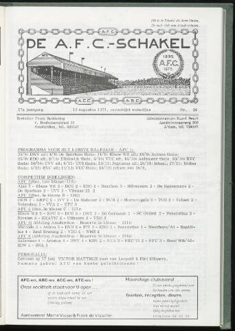 Schakels (clubbladen) 1977-08-10