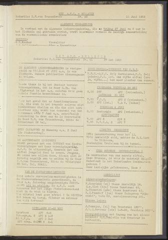 Bulletins (vnl. opstellingen) 1952-06-10