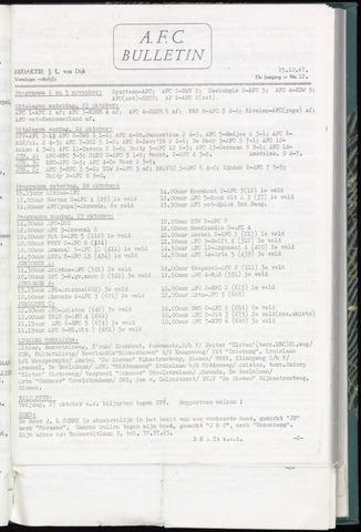 Bulletins (vnl. opstellingen) 1967-10-25