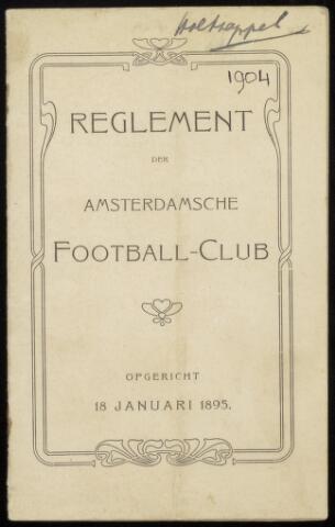 Statuten en reglementen 1904-10-01