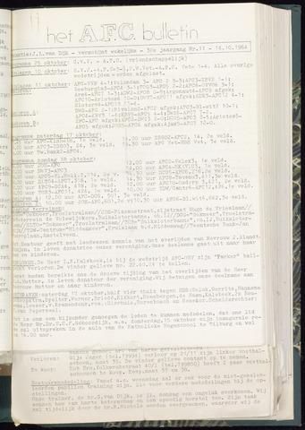 Bulletins (vnl. opstellingen) 1964-10-14