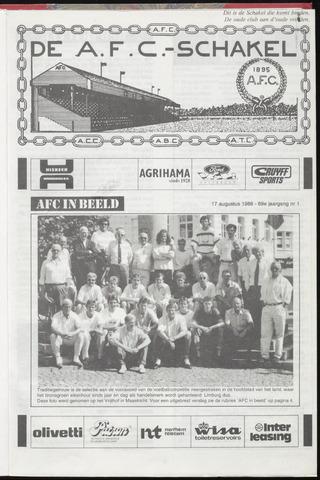 Schakels (clubbladen) 1988-08-17