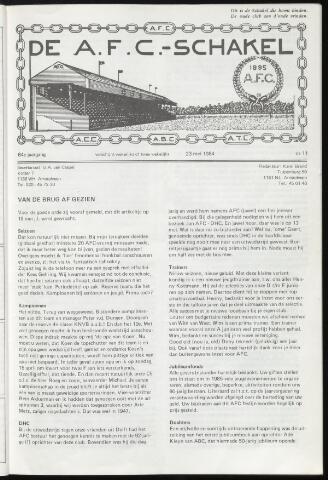 Schakels (clubbladen) 1984-05-23