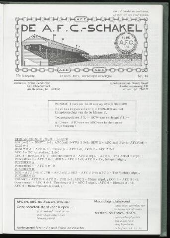Schakels (clubbladen) 1977-04-27