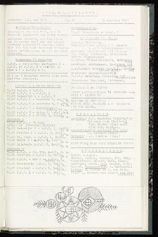 Bulletins (vnl. opstellingen) 1961-12-05