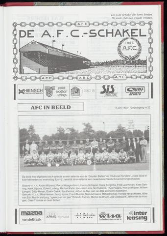 Schakels (clubbladen) 1992-06-17