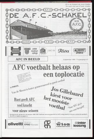 Schakels (clubbladen) 1990-09-05