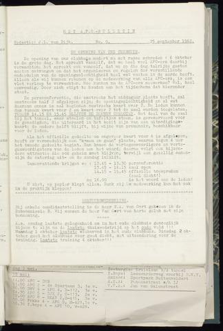 Bulletins (vnl. opstellingen) 1962-09-19