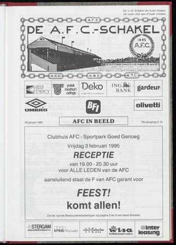Schakels (clubbladen) 1995-01-25