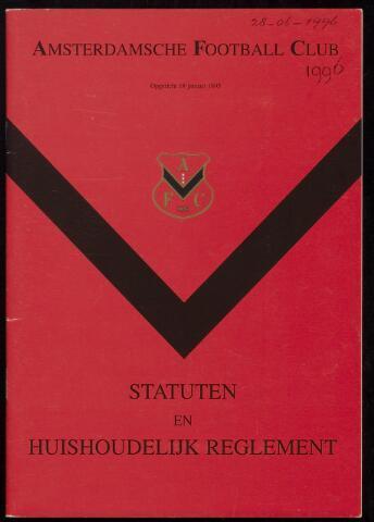 Statuten en reglementen 1996-06-28