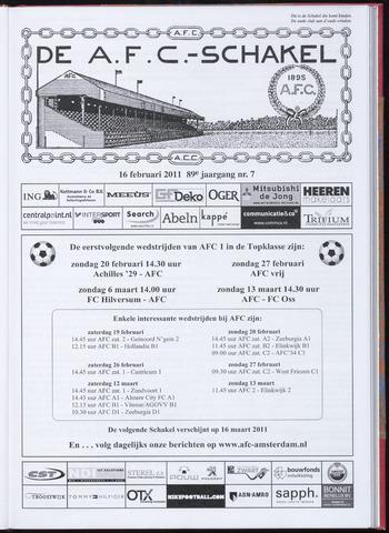 Schakels (clubbladen) 2011-02-16