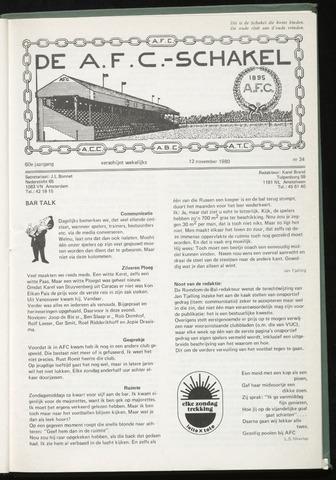 Schakels (clubbladen) 1980-11-12