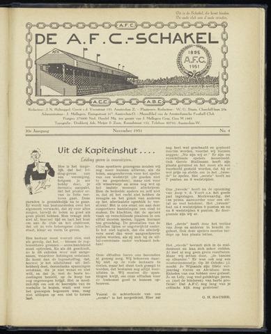 Schakels (clubbladen) 1951-11-01