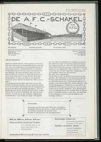 Schakels (clubbladen) 1978-11-29